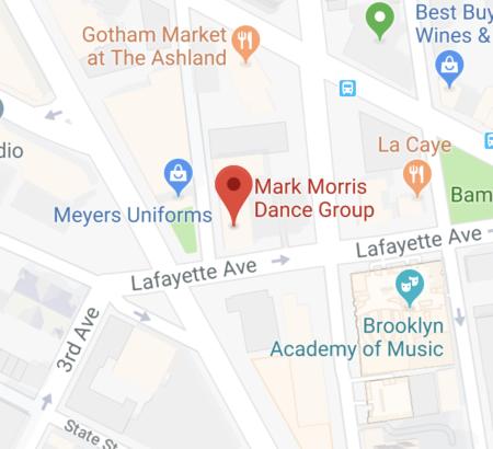 Nyc Subway Map Bam Park.Mark Morris Dance Group Visiting The Dance Center